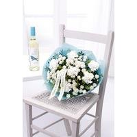 Personalised White Wine Bouquet