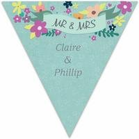Personalised Love Story Wedding Bunting