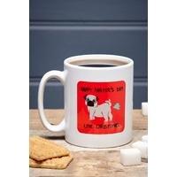 Personalised Happy Farters Day Mug