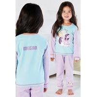 Young Girls Personalised My Little Pony Magical Friends Pyjamas