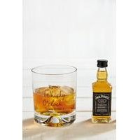 Personalised Jack Daniels Whisky Set