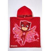 Personalised PJ Masks Owlette Poncho