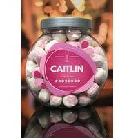 Personalised Prosecco Bon Bon Jar