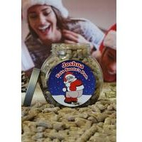 Personalised Santas Chocolate Poo Jar
