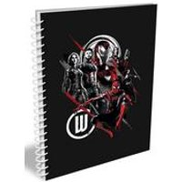 Personalised Marvel Infinity War Group Sketch Notebook