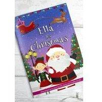 Personalised Girl Elf Christmas Story Book