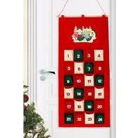 Personalised Felt Elf Advent Calendar