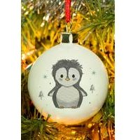 Personalised Pebbles the Penguin Bauble