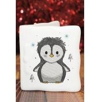 Personalised Pebbles the Penguin Message Card
