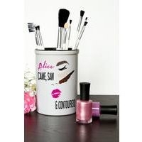 Came Saw and Contoured Personalised Make Up Brush Holder