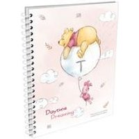 Personalised Winnie the Pooh and Piglet Daytime Dreaming A5 Notepad