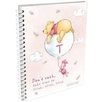 Personalised Winnie the Pooh and Piglet Dont Rush A5 Notepad