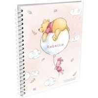 Personalised Winnie the Pooh and Piglet A5 Notepad