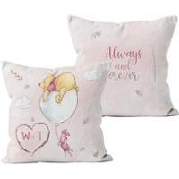 Personalised Winnie the Pooh and Piglet Always and Forever Cushion