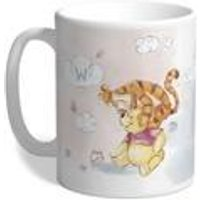 Personalised Winnie the Pooh and Tigger Initial Mug