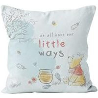 Personalised Winnie the Pooh Little Ways Cushion