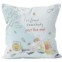 Personalised Winnie the Pooh Just like me Cushion