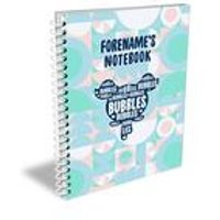 Personalised Powerpuff Girls Bubbles A4 Notebook