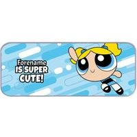 Personalised Powerpuff Girls Bubbles Pencil Tin