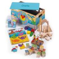 Personalised Dinosaur 7-In-1 Activity Trunk