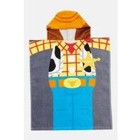 Personalised Toy Story Woody Poncho