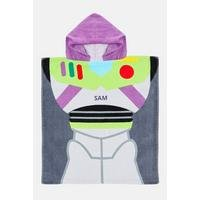 Personalised Toy Story Buzz Poncho