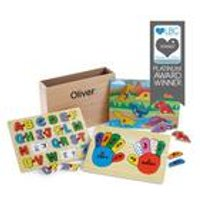 Personalised Dinosaur Wooden Puzzle