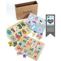 Personalised Princess Wooden Puzzle