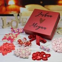 Personalised Deluxe Valentines Sweet Box