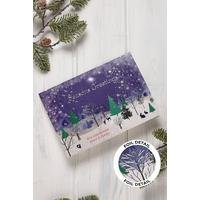 Personalised Foil Woodland Cards