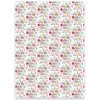 Personalised Happy Mothers Day Gift Wrap