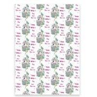 Personalised Koala Mothers Day Gift Wrap