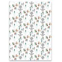 Personalised Family Mothers Day Gift Wrap