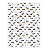 Personalised Old Cars Gift Wrap