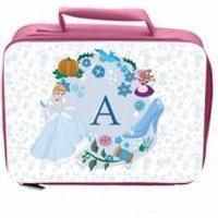 Personalised Disney Princess Cinderella Initial Lunch Bag
