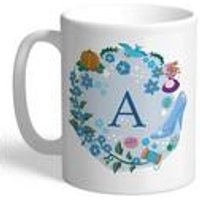 Personalised Disney Princess Cinderella Initial Mug