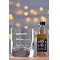Personalised Jack Daniel Set