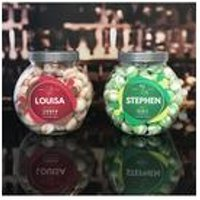 Personalised Vodka and Gin Flavour Sweet Jar Set
