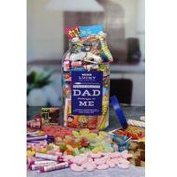 Personalised Dads Retro Sweet Jar