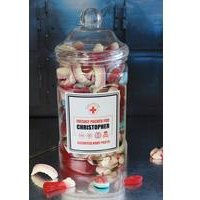 Personalised Edible Anatomy Sweets Jar