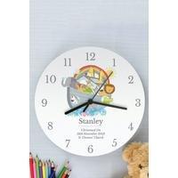 Personalised Noahs Ark Clock