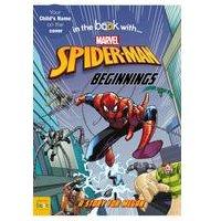 Personalised Spiderman Beginnings - Softback Book