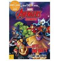 Personalised Avengers Beginnings - Hardback Book