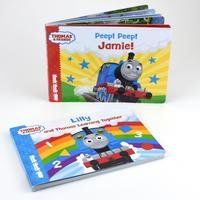 Personalised Dual Box-set Thomas and Friends Board Books