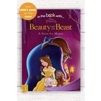 Personalised Beauty and the Beast - Softback Book