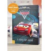 Personalised Disney Cars 3 - Hardback Book