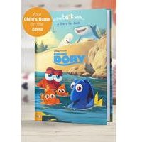 Personalised Finding Dory - Hardback Book