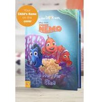 Personalised Finding Nemo - Softback Book