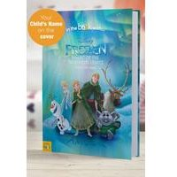 Personalised Frozen Northern Lights - Hardback Book
