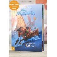 Personalised Moana - Hardback Book
